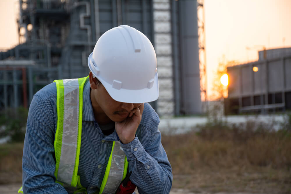 Worker sidelined due to work illness