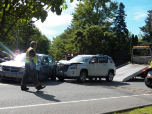 Kansas Rear End Crash on the streets