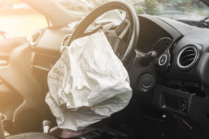 Kansas Car Accident Lawyer activated air bag