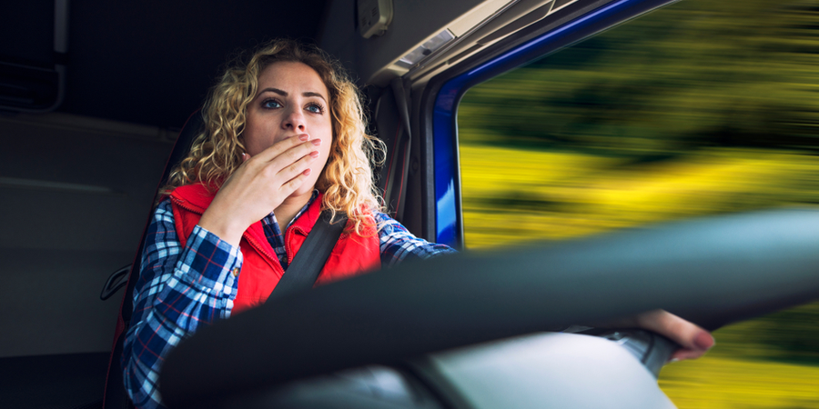 Truck Driver Fatigue Is a Safety Issue